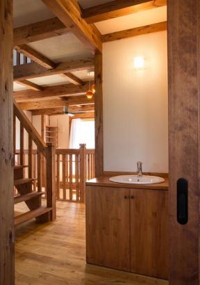 2階にも手洗い・トイレを設置して清潔さを