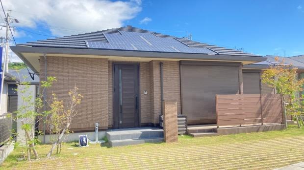 太陽光 蓄電池で災害時にも心強いお家です♪